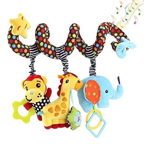 BIEE Spirale da Passeggino e Lettino Giocattoli da Avvolgere a Culla Spirale attivita giocattolo - 1 Pezzo