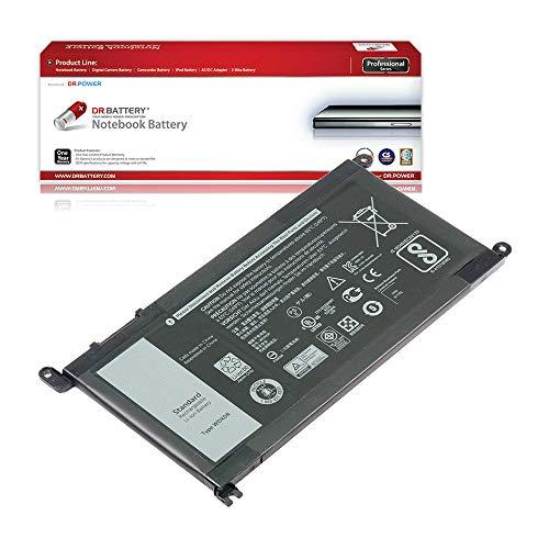 DR. BATTERY Laptop Battery for Dell WDX0R WDXOR FC92N Latitude 3180 3189 3379 3480 3580 Inspiron 15 5565 5567 5568 5578 5579 5584 7579 7580 7569 5368 5378 5379 Vostro 5468 5568 [11.4V/3500mAh/42Wh]