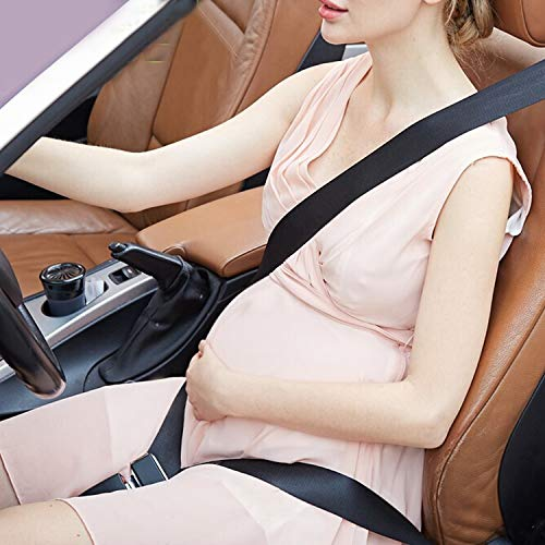 KARAA Ceinture de Protection de Grossesse, Ceinture Réglable de sécurité de grossesse, Ajusteur de ceinture de sécurité Pour Femme Enceinte Auto Antichoc (en évitant le risque de fausse couche)