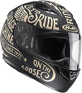 HJC(エイチジェイシー)バイクヘルメット フルフェイス ゴールド(MC10F) CS-15レブル HJH117 XL (61cm~62cm)