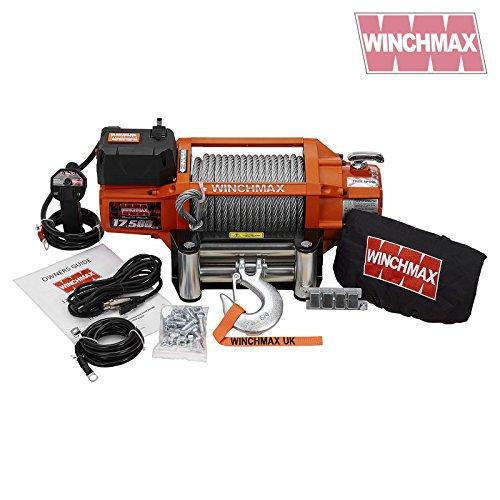 Elektrische Seilwinde 24V 4x 417500LB SL winchmax Marke–Recovery/Off Road–Kabellos
