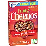 Fruity Cheerios, Cereal with Oats, Gluten Free, 14.2 oz