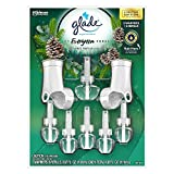 Glade Plugins ICY Evergreen Forest 1 Scented Oil Warmer & 6 Scented Oil