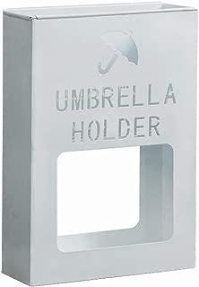 Yxsd Umbrella Stand Simple and Modern Storage Rack Rust Household Floor-Standing Umbrella Bucket Umbrella Stands (Color : White)