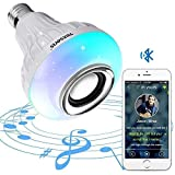 Texsens Bluetooth Light Bulb Speaker Generation II Smart LED Music Lamp with...