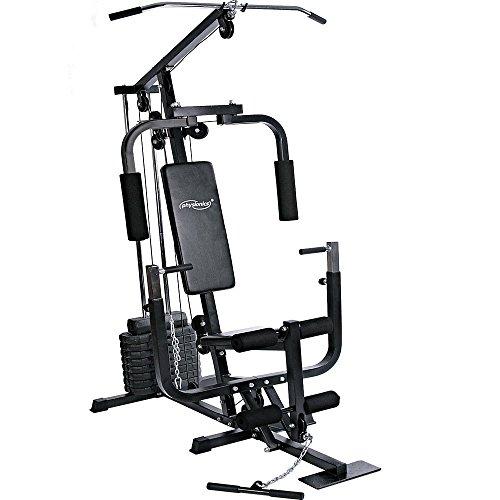 Physionics–fnst01–Professionelle Workout-– ca. 151x 98x 203cm–mit 9Scheiben von 4,5kg