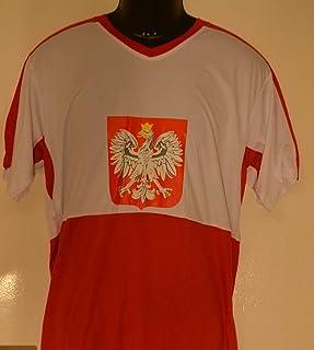 86b55e91009f0 Coupe du Monde de Football Maillot de la Pologne S Coupe du Monde de  Football Maillot