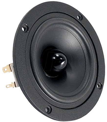 Visaton B 80 - Lautsprecher (in-Wand/in-Decke, Speaker Set Unit, Neodym, 80-20000 Hz, Schwarz, Verkabelt)