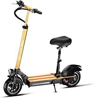 10-inch Electric Scooter, 500W Power, Battery Life 30KM Electric Scooter Adults, Three Riding Modes