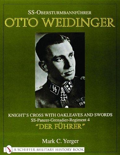 SS-Obersturmbannfuhrer Otto Weidinger: Knight's Crs with Oakleaves and Swords SS-Panzer-Grenadier-Regiment 4