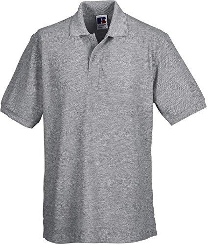 Russell - Robustes Pique-Poloshirt - bis 6XL / Light Oxford, 4XL 4XL,Light Oxford