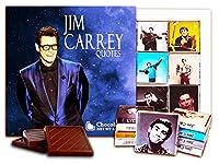 """DA CHOCOLATE キャンディ スーベニア """"ジム・キャリー"""" チョコレートセット 5×5一箱 (Blue)"""