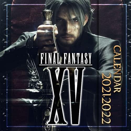 Final Fantasy XV: 2021 – 2022 Games Calendar – 18 months – 8.5x8.5 High Quality Images