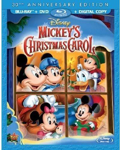 Mickey's Christmas Carol, 30th Anniversary Edition (Blu-ray/DVD + Digital Copy) [Importado]