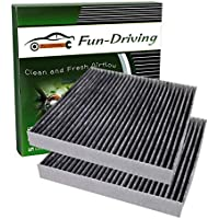 2-Pack Fun-Driving Cabin Air Filter (Light Gray)