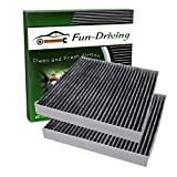 Fun-Driving FDCAFT002 Cabin Air Filter for Toyota/Lexus/Scion/Subaru/Land Rover/Pontiac,Replace CF10285 (2 Pack)