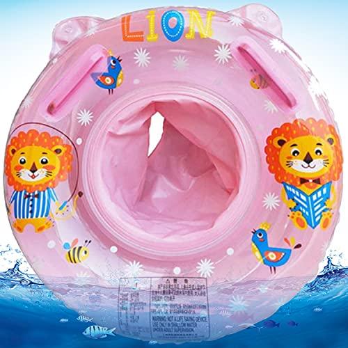 Baby Schwimmring, Baby Schwimmhilfe Spielzeug, Aufblasbarer Schwimmreifen, Baby Swimming Ring mit Schwimmsitz, Kinder Schwimmreifen Spielzeug, Float Kinder Schwimmring (Rosa)