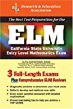 ELM (REA) - The Best Test Prep for the Entry Level Mathematics Exam (Test Preps)