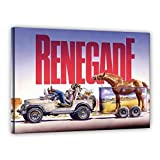 Terence Hill Bud Spencer Leinwand - Jeep - Renegade -