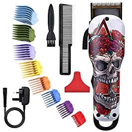 Cosyonall Hair Clippers Cordless Beard Trimmers Rechargeable Electric Hair Trimmer for Men Women Adults Kids Children Baby Barber Haircut Men's Grooming Cutter Hair Cutting Kit with 8pcs Guide Combs