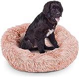 Cama de Felpa para Mascotas, Almohadilla Suave, cómoda y calmante para donas y con Forma de...