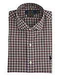 Polo Ralph Lauren Mod. 710767398 Camisa Popelín Stretch Custom Fit Hombre Burdeos S