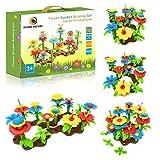Desire Deluxe Juguetes para Niños y Niñas de 3 Años Set de Bloques para Niños para Crear un Jardín de Juguete – Arreglo Floral para Interiores y Exteriores – 54 Piezas