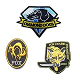 GrayCell Military Morale Diamond Dogs and Metal Gear Solid Fox Patch (G)