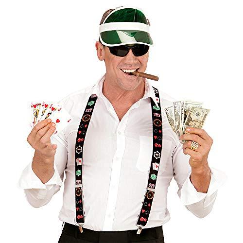 WOOOOZY Hosenträger Las Vegas Pokermotive