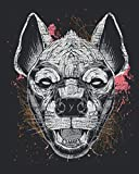 Hyena: Animal Lover Gift Idea for Women And Men - Monthly Weekly Planner / Journal (8' X 10' - January 2021 - December 2021 - 122 Pages)