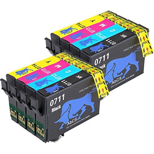 Cartuchos de Tinta Alta Capacidad T0711 T0712 T0714 T0711 (T0715), compatible con cartuchos Epson Stylus
