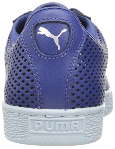 PUMA Men's Basket Classic Summer Shade Fashion Sneaker, Puma White, 12 M US