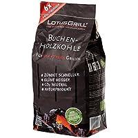 LotusGrill LK-1000 - Bolsa carbón de Haya, 1 kg