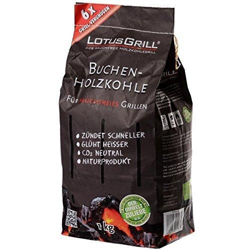 LotusGrill Kohle, 1-kg-Sack
