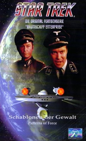 Star Trek - Raumschiff Enterprise: Schablonen der Gewalt [VHS]
