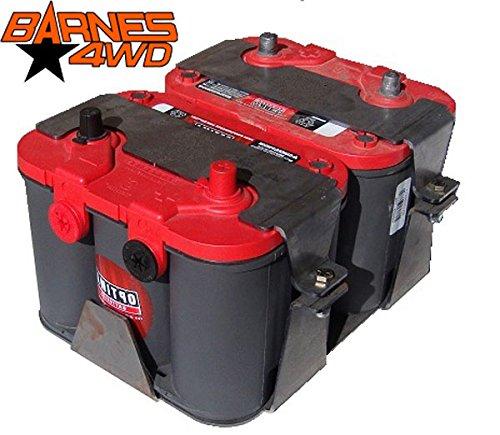 BARNES 4WD 34/78 OPTIMA DUAL BATTERY BOX