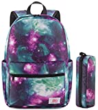8. Backpack for Boy Student Kid Waterproof Durable Elementary Middle School Bookbag (E-Green 2in1)