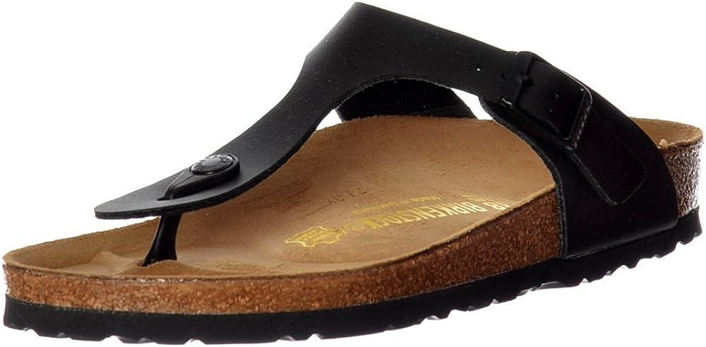 Birkenstock Gizeh Black Unisex Sandals Size 39 EU