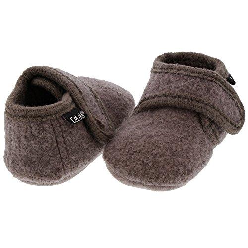 CELAVI Unisex-Baby Wool Shoe Hausschuh, Dusty Lavender, 21 EU - 4