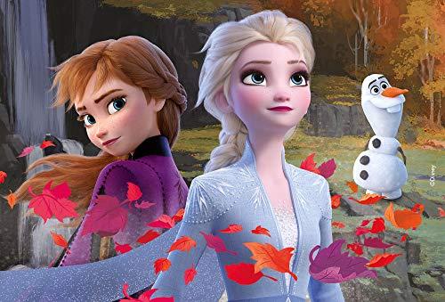 Lisciani Giochi- Disney-DF Plus Frozen 2 Puzzle Doppia Faccia, Multicolore, 24 Pezzi, 81295