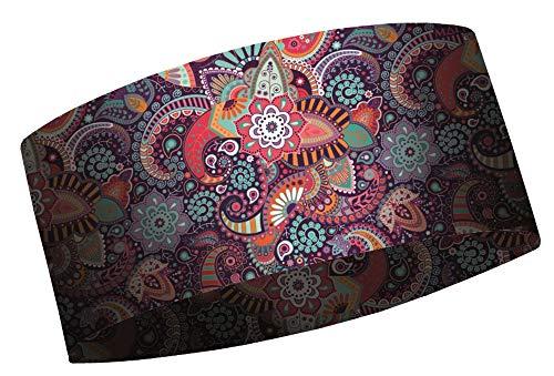 MATT - Coolmax Headband - Unisex Stirnband für das ganze Jahr, Farbe MA:Amebas