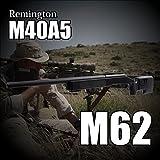 ダブルイーグル 1/1スナイパーライフル 予備マガジン付き エアコッキングガン レミントンM40A3 M62 エアガン DOUBLE EAGLE