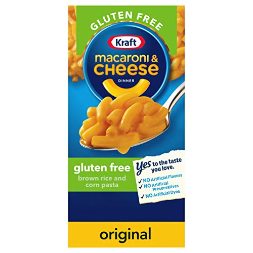 Kraft Gluten Free Original Flavor Macaroni and Cheese Meal, (6 oz Boxes, Pack of 12)