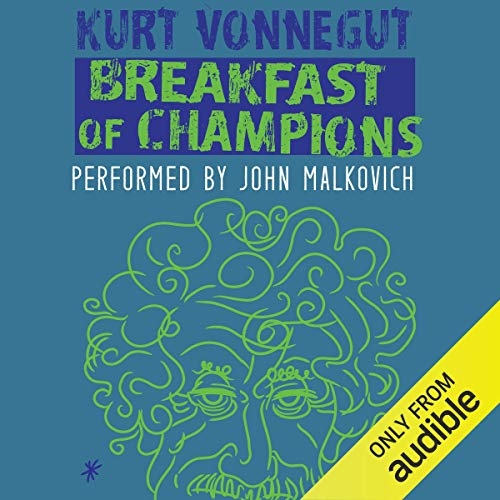 Breakfast of Champions audiobook cover art