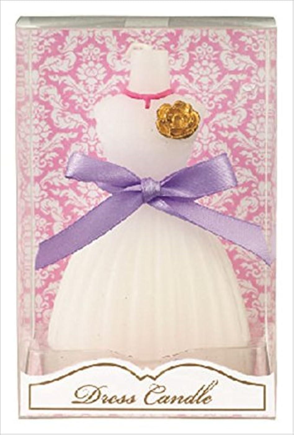 スラダム潜むシンポジウムカメヤマキャンドル( kameyama candle ) ドレスキャンドル 「 ホワイト 」
