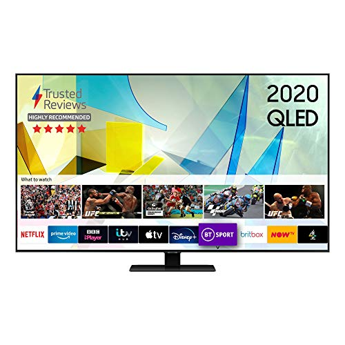 "Samsung 2020 65"" Q80T QLED 4K HDR 1500 Smart TV with Tizen OS"