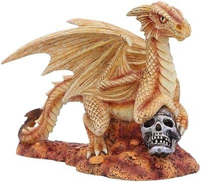 Nemesis Now Anne Stokes Age Small Desert Dragon Figurine, us:one Size, Yellow