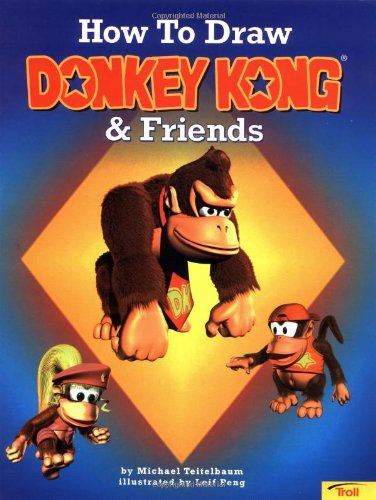 How to Draw Donkey Kong & Friends