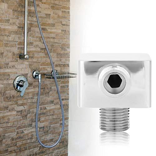 Robusto conector de ducha con revestimiento grueso G1/2 pulgadas, salida de ducha de latón, accesorio para panel de ducha