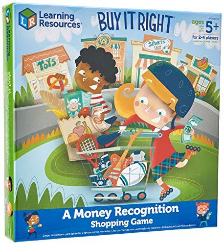 Learning Resources LSP2652-UK Buy it Right – Richtig einkaufen, Einkaufsspiel